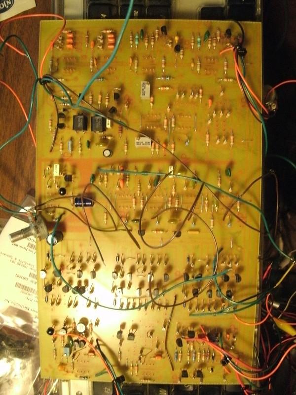Buchla 410 Clone DIY