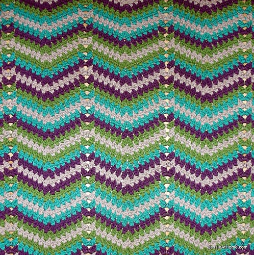 Faded Ripple ~ Free Crochet Pattern Jessie At Home