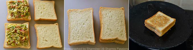 Guacamole Sandwich - Step3