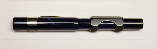 Gate City Pen - READYFILL Claire de Lune Fountain Pen - Broad @RichardsPens Capped