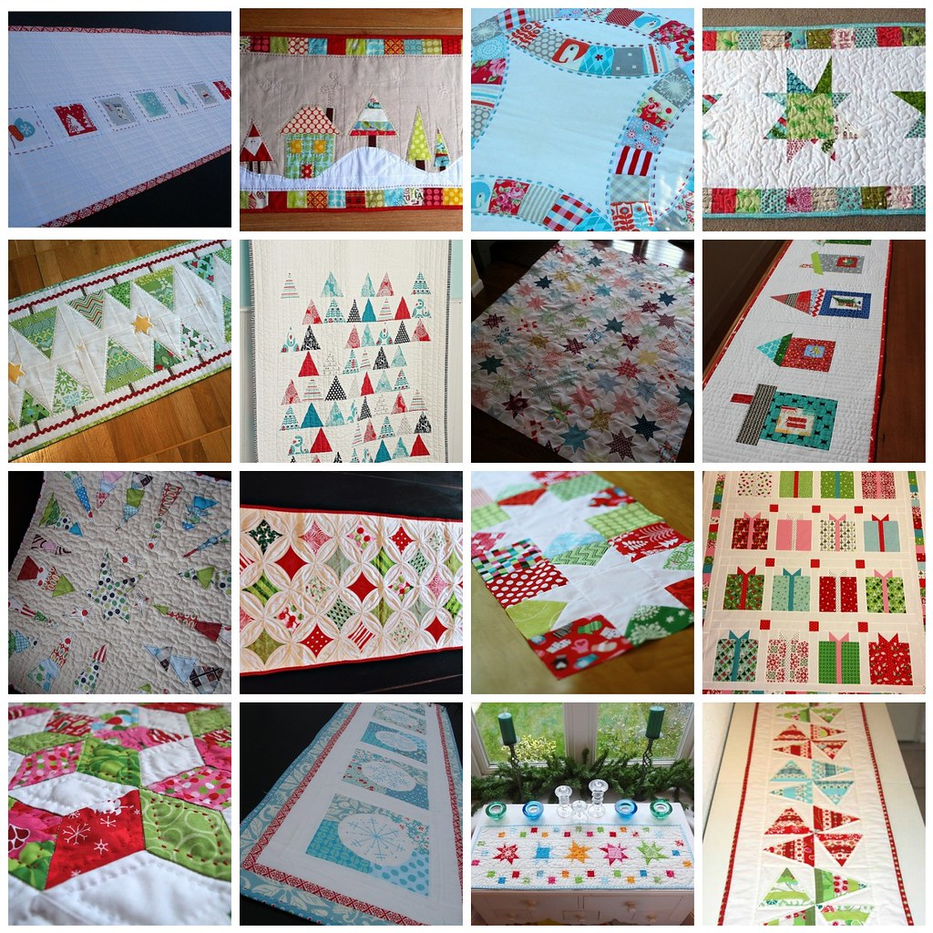 Christmas Table Runner Inspiration