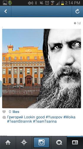 Rasputin Selfie