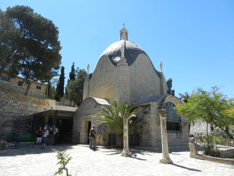 Иерусалим. Капелла Доминус Флевит