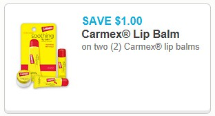 1 2 Carmex Lip Balm Printable Coupon Is Back 0 25 At Walgreens 11 28 11 30 The Shopper S Apprentice