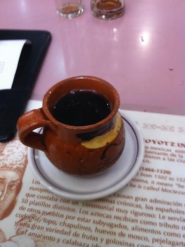 México DF | Restaurante Don Chon | Café de olla