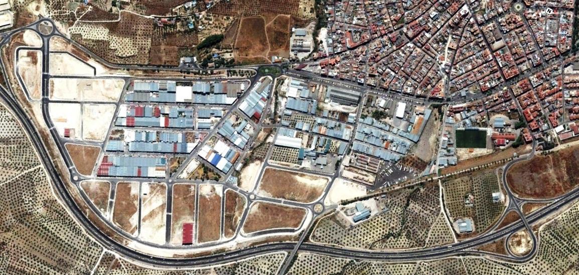 después, urbanismo, foto aérea,desastre, urbanístico, planeamiento, urbano, construcción,Torre del Campo, Jaén