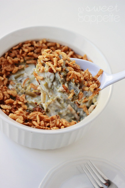 Classic green bean casserole recipe