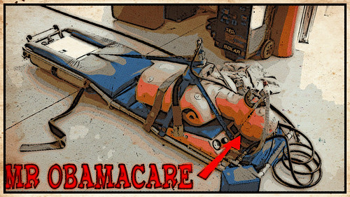 MR OBAMACARE by WilliamBanzai7/Colonel Flick