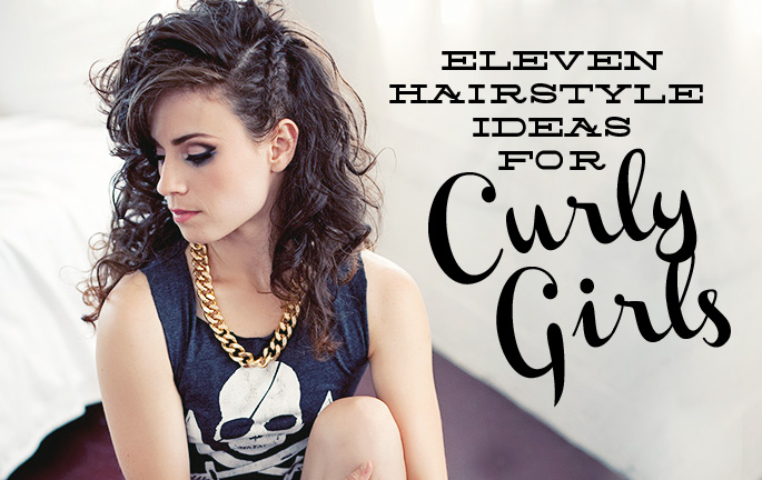 Astonishing Eleven Hairstyle Ideas For Curly Girls The Brave Life Short Hairstyles Gunalazisus