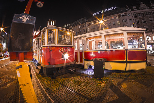 Tramway 11 by Zdenek Papes