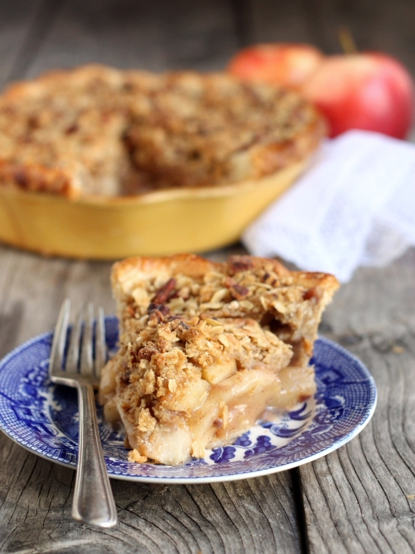 Dutch Apple Pie, from CompletelyDelicious.com