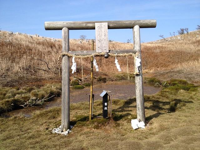 霊仙山 榑ヶ畑コース 霊仙神社