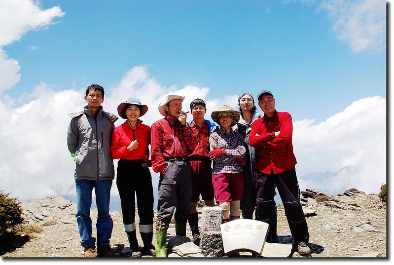奇萊主山北峰頂 2