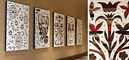 Dolan Geiman Art Installation for Omni Hotel Nashville