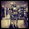 A suit of armour complete with apron only £500. You really can get anything @homesenseUK