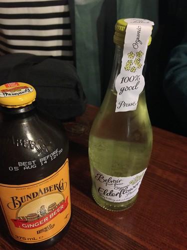 Ginger Beer, Elderflower drink