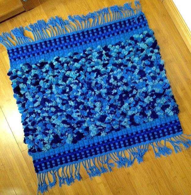 Blue rug: finished