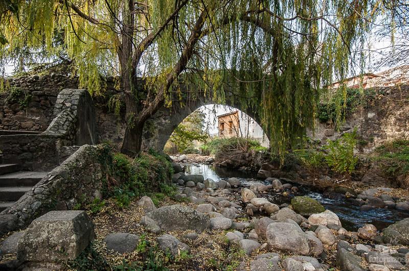 Puente de la Fuente Chiquita de Hervás