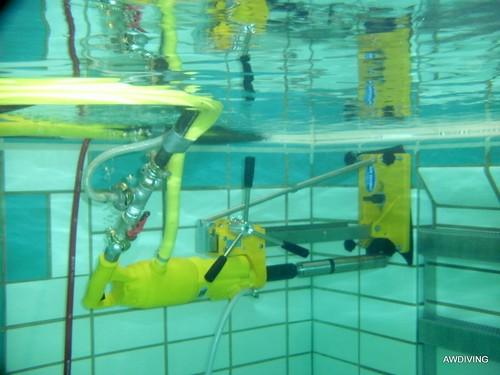 Water monitoring systeem aanleggen.
