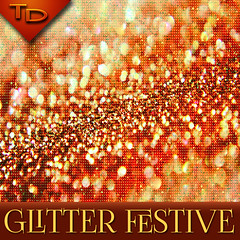 Glitter festive background