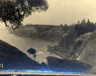 Near Cascades Landing Place [RAHS/Frank Walker Collection]
