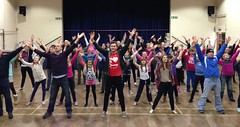 Balerno TC in rehearsal for A Chistmas Carol - The Pantomime. Photo © Michael Davies...