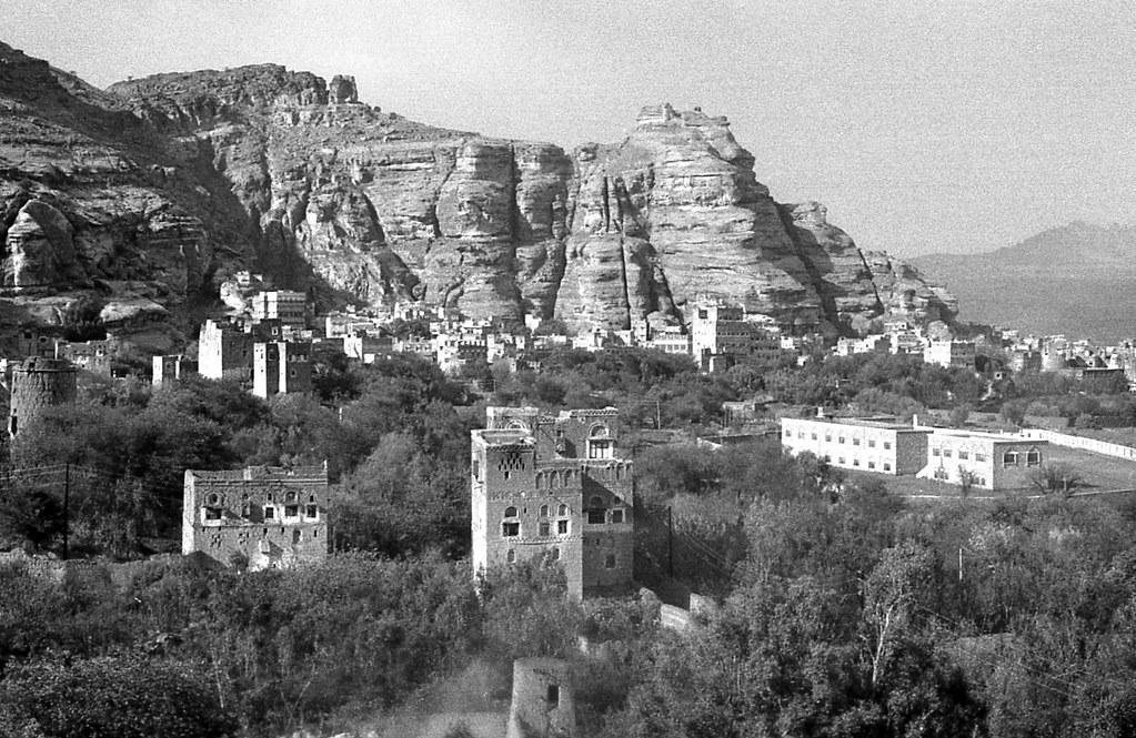 Wadi Dhahr Sana'a Yemen January 1993