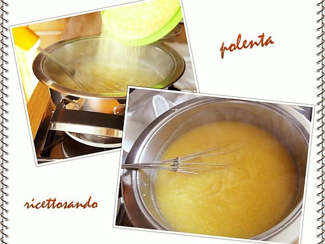Polenta ricetta base prepariamo alla cottura in pentola o paiolo