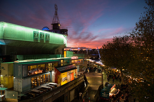 Southbank at sundown...