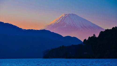 "Mt.Fuji - Lake Ashi of Japan ""Hakone"""