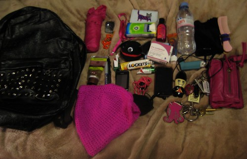 The Assorted Shit that Travels Around with me in my Handbag