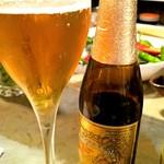 ベルギービール大好き!! リンデマンス・ペシェリーゼ Lindemans Pecheresse