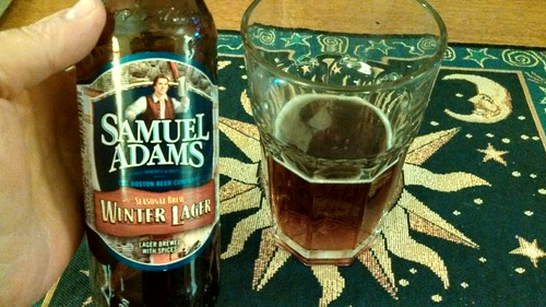 Sam Adam's Winter Lager