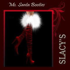 Ad Ms Santa Booties