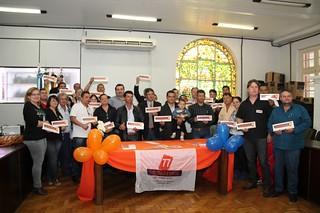 Lideranças solidárias da região participaram do evento em Rio Grande