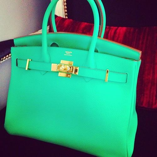 Emerald Hermès Birkin