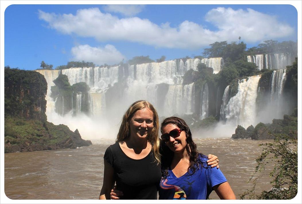 4 argentina dani and jess iguazu falls