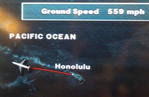 ハワイを離れました・・・