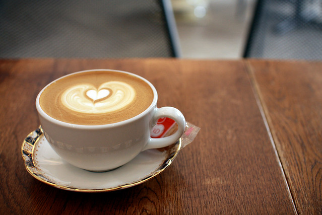 saturday cafe latte