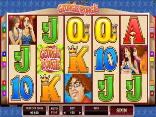 Rhyming Reels - Georgie Porgie Slot Machine