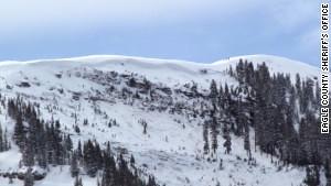 East Vail slide