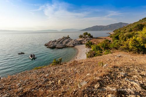 sea beach nature island boat croatia hike sv cres blaž