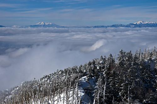 cloud snow yatsugatake mtnorikura mtkisoontake
