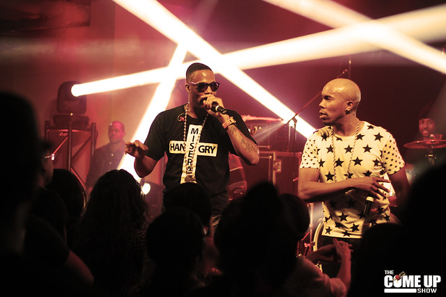 Kardinal Offishall and Danny Fernandes at The Wave