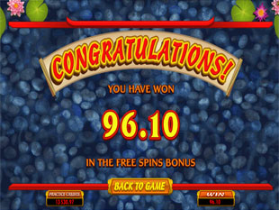 free Lucky Koi slot Free Spins Win