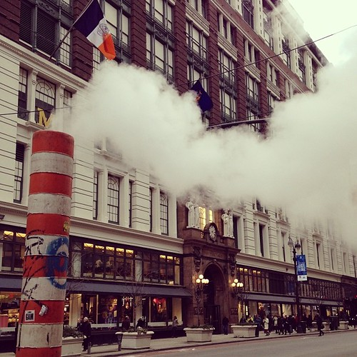 New York letting off some steam #nyc