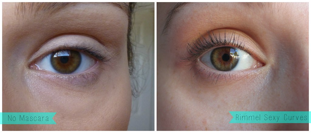 Rimmel Sexy Curves Mascara australian beauty review blog blogger ausbeautyreview before after compare comparison drugstore affordable mascara black volume length eye lashes pretty beautiful