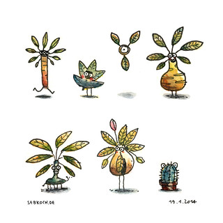 Beware, it's the plant people