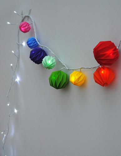 Origami-Ball-Garland