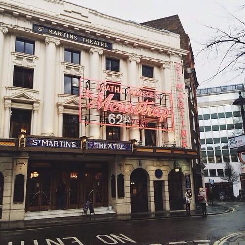 st. martin's theatre.